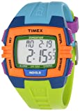 Timex Unisex T499229J  Expedition Rugged Digital Chrono Alarm Timer Color Block Resin Strap Watch