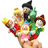 Baidecor King And Queen Finger Puppets Set Of 6