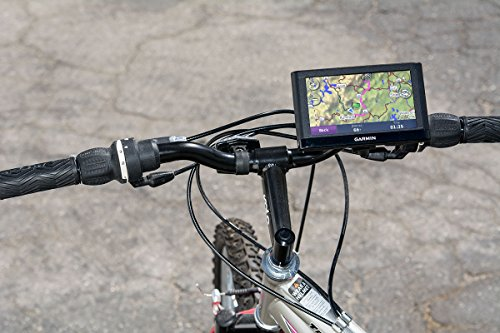 Arkon Bike or Motorcycle Handlebar Mount for Garmin nuvi 40 50 200 2013 24x5 25x5 GPS