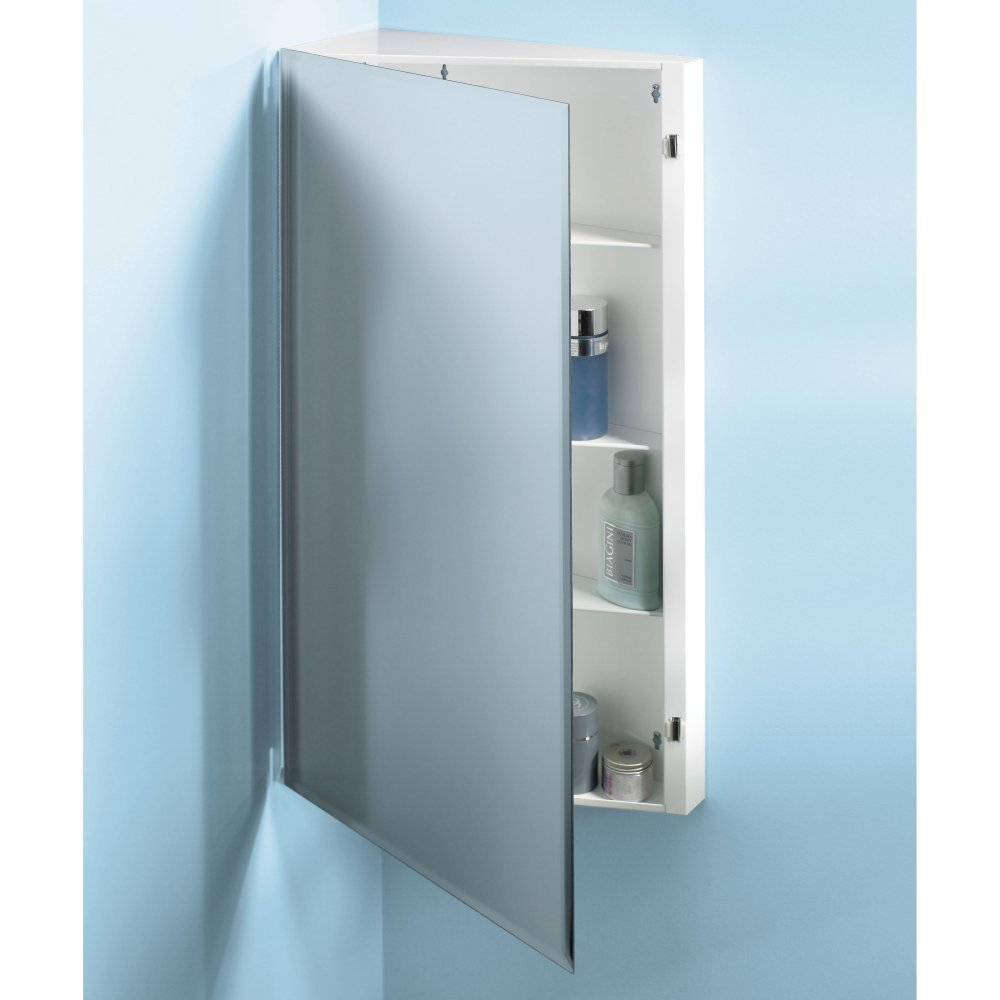 Broan-NuTone Corner Single-Door Surface Mount Medicine Cabinet