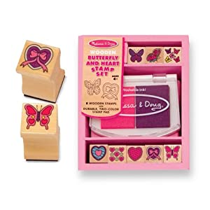 Melissa and Doug Butterfly Stamp Set