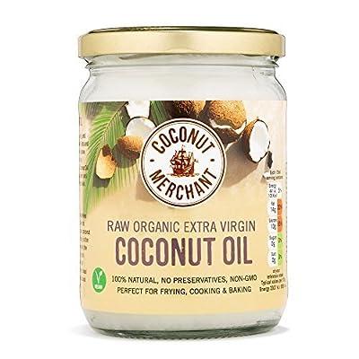 Coconut Merchant Extra Virgin Organic Raw Coconut Oil by Coconut Merchant