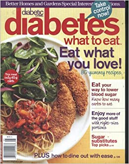 Better Homes And Gardens Special Interest Diabetic Living