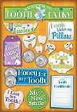 Karen Foster Design Acid and Lignin Free Scrapbooking Sticker Sheet, Cute and Toothless