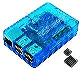 Raspberry Pi3 Model B ボード&ケースセット (Element14版, Blue)