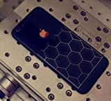 #6: GADGETS WRAP Black Edition limited iphone 6 (4.7) / 6s (4.7) Nutted Silver sticker skin for BACK & SIDES ONLY