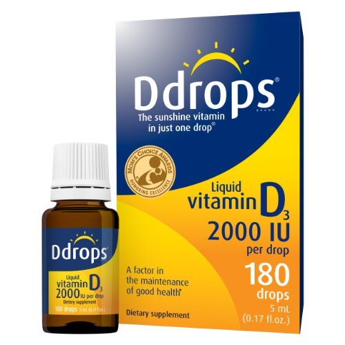 Ddrops® 2000 IU 180 drops (Ddrops 2000 compare prices)