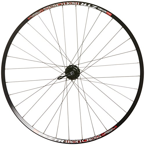 Wilkinson Sram 700C Front Wheel - X9 On Stan'S Ztr Iron Cross 700C 6-Bolt Disc - 100X9Mm Q/R Included, 32 Hole