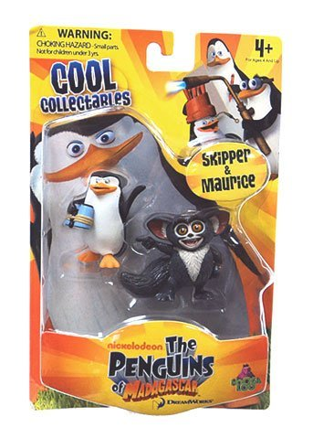 The Penguins of Madagascar Minifigure 2Pack Skipper Maurice