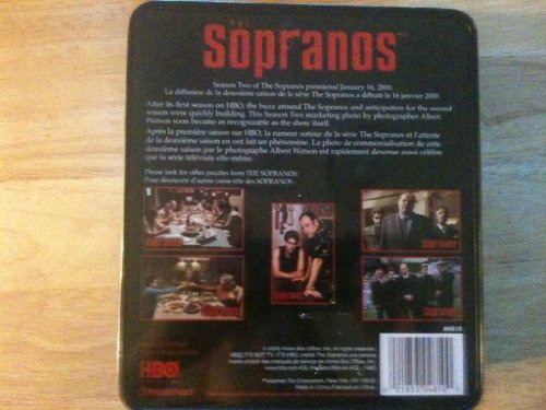 The Sopranos ~ 550 Piece Puzzle in Metal Case {Casse-tete de 550 pieces}