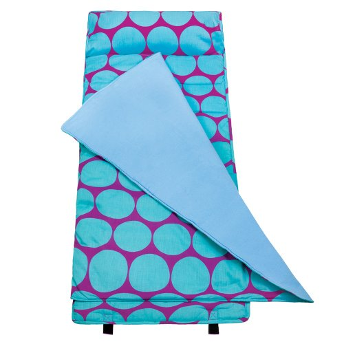 Lowest Price! Wildkin Big Dots Aqua Nap Mat