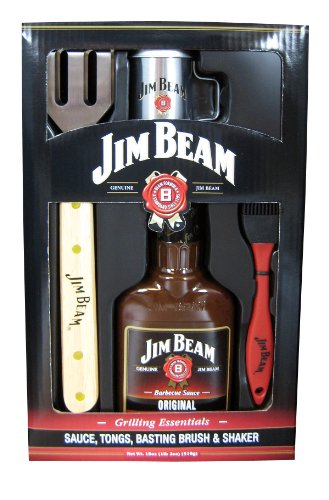 Jim Beam: Grilling Essentials - Sauce, Tongs,