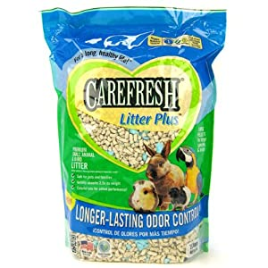 Carefresh Litter Plus Premium Small Animal & Bird Litter, 7.5 Liter