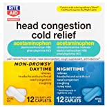 Rite Aid Head Congestion Cold, 24 ea