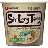 Nongshim Sir Long Tang Creamy Beef Noodle Soup, 2.6 Ounce (Pack of 6)