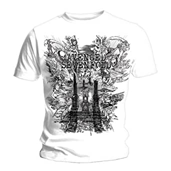 Official T Shirt AVENGED SEVENFOLD Hail to the King LAND OF CAIN S