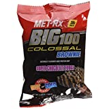 MET-Rx Colossal Brownie Super Chocolate Fudge Bar, 100 Gram (Pack Of 9)