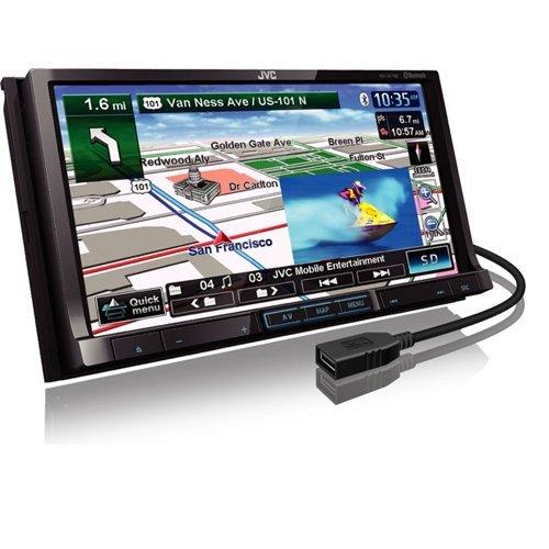 Jvc Kwnt700 Mobile 7-Inch Gps/Dvd/Cd/Usb
