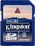 Kingston 16GB SD SDHC Memory Card Stick For Canon IXUS V, IXUS V2, IXUS V3, IXUS Wireless, IXY Digital L4, PowerShot A1000 IS Digital Camera