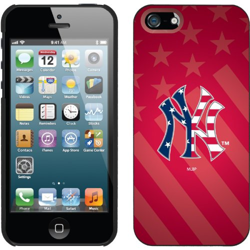 Great Price New York Yankees - USA Red design on a Black iPhone 5 Thinshield Snap-On Case by Coveroo