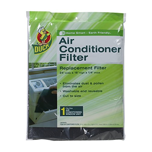 Dive Brand 1285234 Replacement Air Conditioner Foam Filter, 24-Inch x 15-Inch x 1/4-Inch, 1-Order off