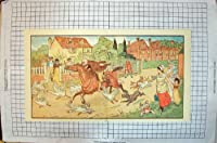 antique riding childs riding horse rank 3