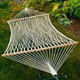 Double Cotton Rope Hammock Without Pillow