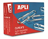 5 Star Paperclips Metal Small 22mm Plain [Pack 1000]