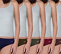 Lux Karishma panty multicolour pack of 5 (X-Large)