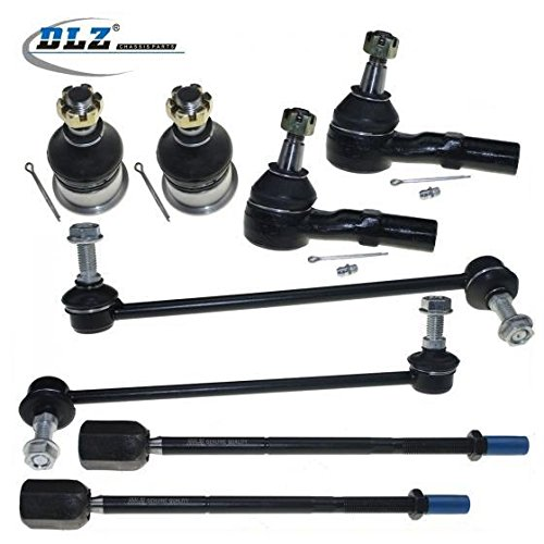 dlz-8-pcs-front-suspension-kit-2-lower-ball-joint-2-outer-2-inner-tie-rod-end-2-front-sway-bar-for-1