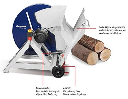 Holzkraft Wippkreissäge HWSE 700 Set2 5960700Set2