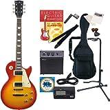 PhotoGenic エレキギター Amazonオリジナル13点 教則本セット レスポールタイプ LP-260/CS チェリーサンバースト