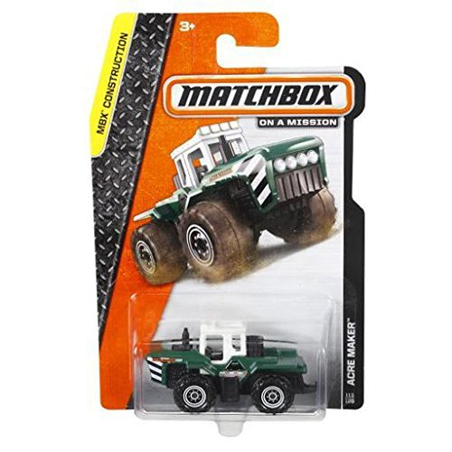 "Matchbox ""On a Mission"" - MBX Construction - Acre Maker #113/120 - 1"