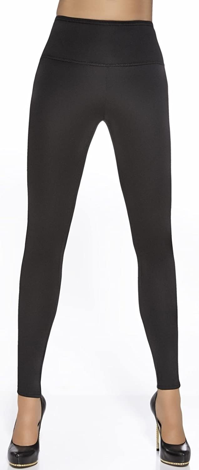 luxuriöse Shape-Leggings * Gr. S M L * mit dezentem Highlight formend modellierend Push-Up Effekt Damenhose günstig bestellen