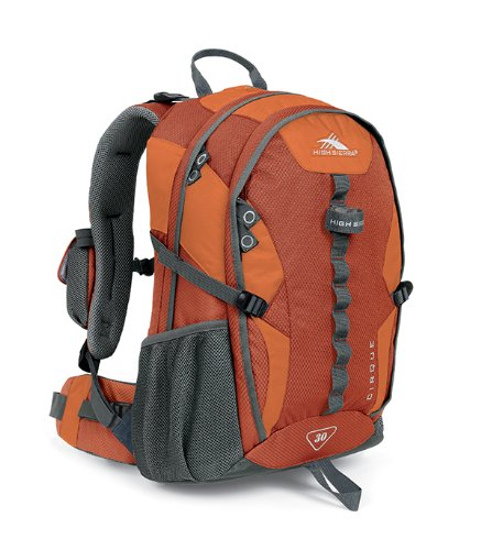 High Sierra Classic Series 59102 Cirque 30 Internal Frame Pack Redrock, Auburn, Charcoal 21.5x12.75x9 Inches 1830 Cubic Inches 30 Liters