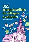 365 noms insolites de villages expliqués par Foufelle