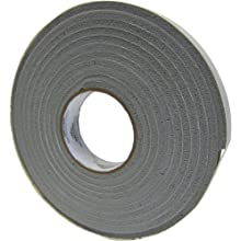 "Saint-Gobain 512AF Strip-N-Stick Silicone Gasket Tape, 30' Length, 1/2"" Width, 1/8"" Thick (Pack of 1)"