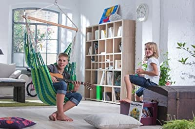 La Siesta Doppel Hängestuhl CAROLINA für 2 Personen 130 kg Tragkraft versch. Farben von La Siesta - Gartenmöbel von Du und Dein Garten