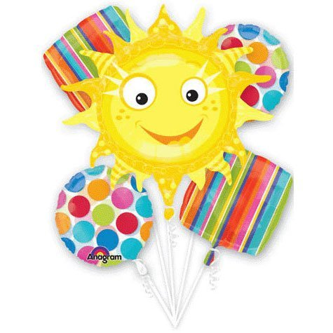 Cabana Dots Sun Bouquet (5 per package)