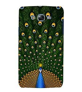 printtech Nature Bird Peacock Back Case Cover for Samsung Galaxy A7 / Samsung Galaxy A7 A700F