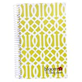 NOT USED 2013-2014 bloom Academic Year Daily Day Planner Fashion Organizer Agenda August 2013 Through July 2014 Avocado Trellis ~ bloom daily planners