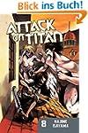 Attack on Titan 8 (English Edition)