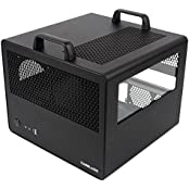 CaseLabs Bullet BH7 ATX Case With Handles And Dual Windows, Black