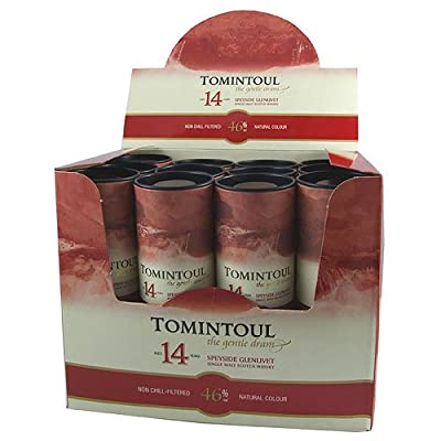 Tomintoul 14 year old Single Malt Scotch Whisky 5cl Miniature - 12 Pack from Tomintoul