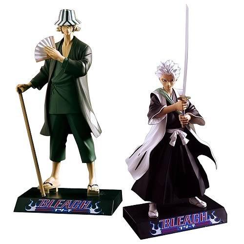 Bleach: Series 4 Action Figure Set of 2 - Kisuke and Toshiro
