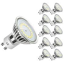 LE MR16 GU10 LED Lampen, ersetzt 50W Halogenlampen, 3.5W, 350lm, Warmweiß, 3000K, 120° Abstrahwinkel, LED Birnen, LED Leuchtmittel, 10er Pack  Von Lighting EVER