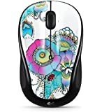 Logitech M317 Lady on the Lily Wireless Mouse - Multicolor (910-003702)