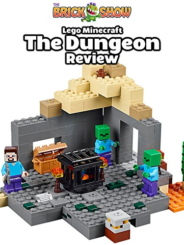 LEGO Minecraft The Dungeon Review Set 21119