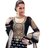 DivyaEmporio Women's Ethnic Salwar Suit Dupatta Unstitched Dress Material (Free Size)