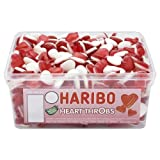 Haribo Heart Throbs 300 Pieces Per Tub
